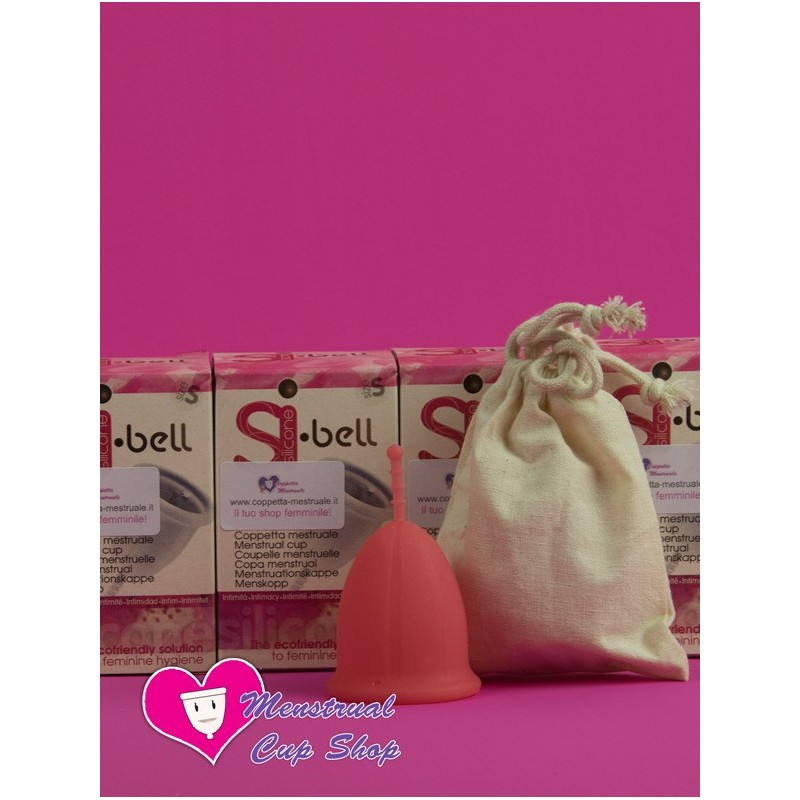 Si-Bell Menstrual Cup - Pink