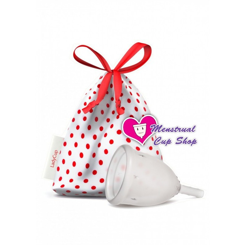 LadyCup Menstrual Cup - Clear