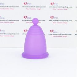 Meluna classic menstrual cup violet - handyball