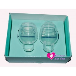 Femmycycle menstrual cup high cervix twin pack