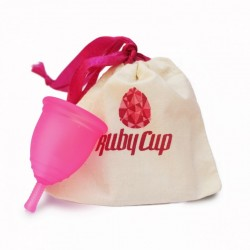Rubycup menstrual cup clear...